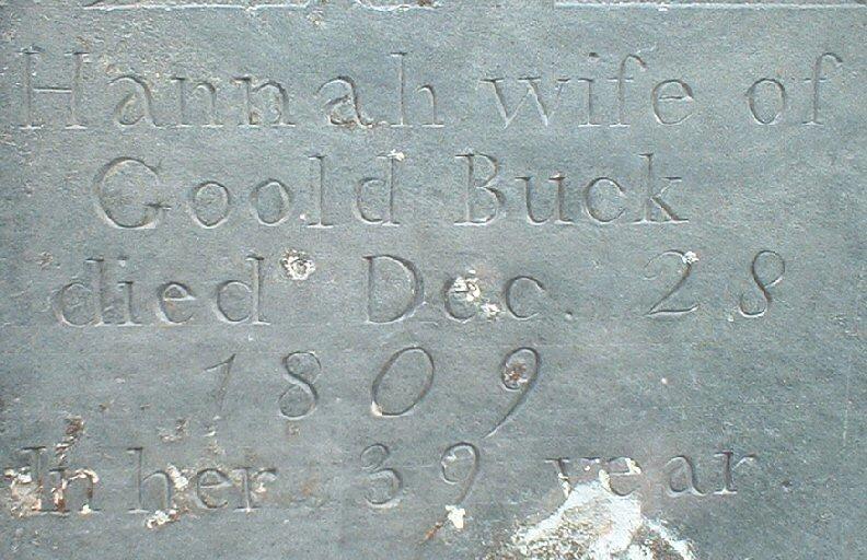 Hannah <i>Burritt</i> Buck