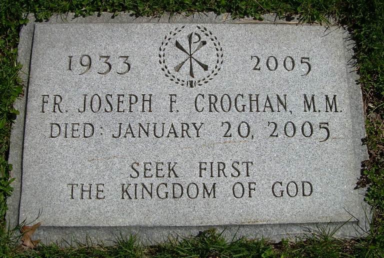 Fr Joseph Frederick Croghan