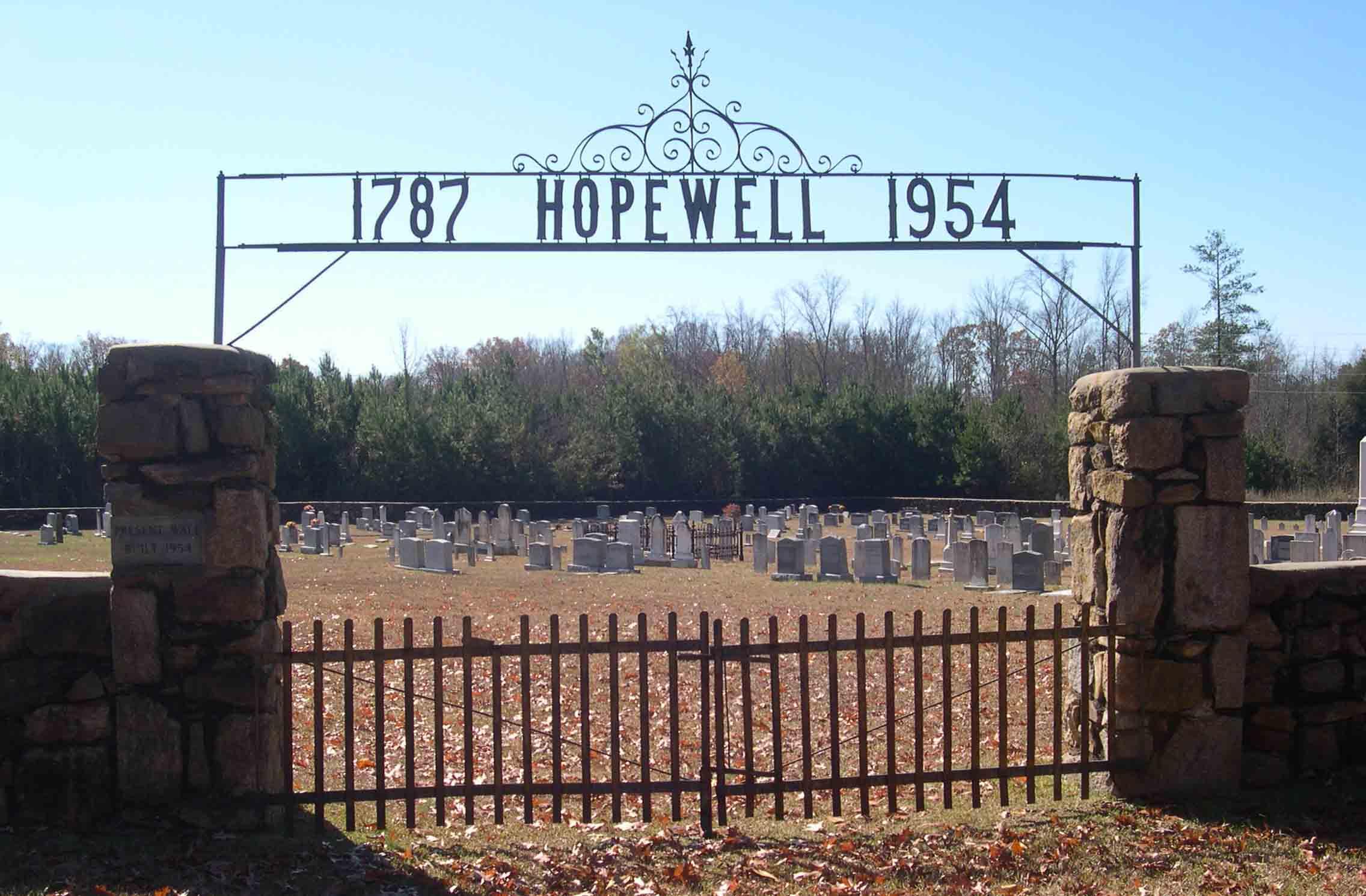 Hopewell Reformed Presbyterian Church Cemetery