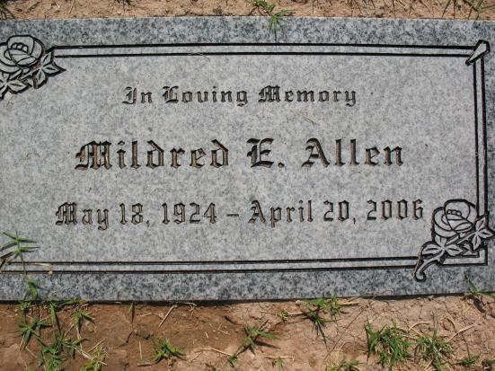 Mildred E. Allen