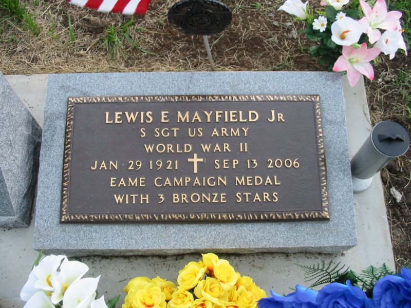 Lewis Edward Junior Mayfield, Jr
