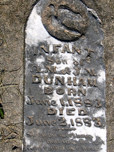Infant Dunham