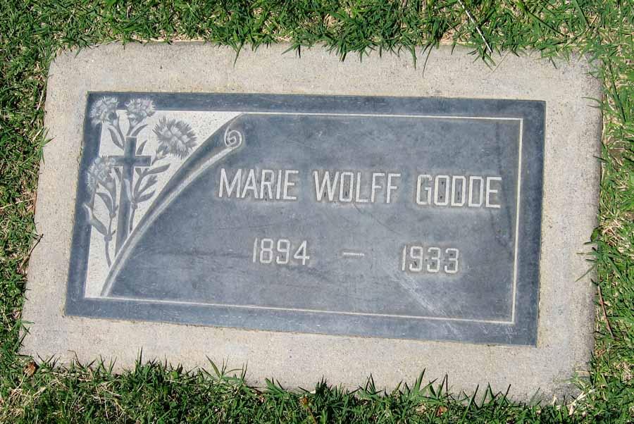 Marie Theresa Barbara <i>Wolff</i> Godde