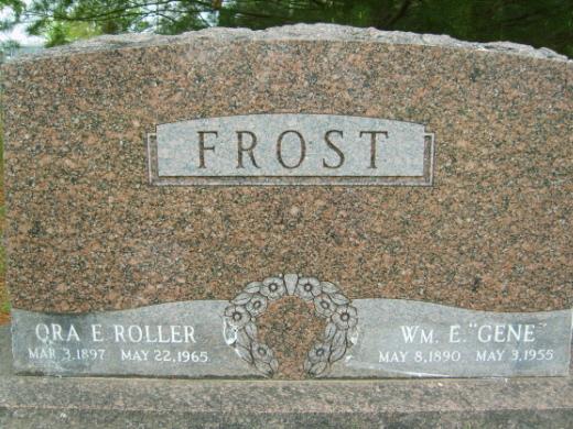 Ora Estes <i>Roller</i> Frost