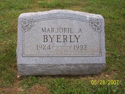 Marjorie Ann Byerly