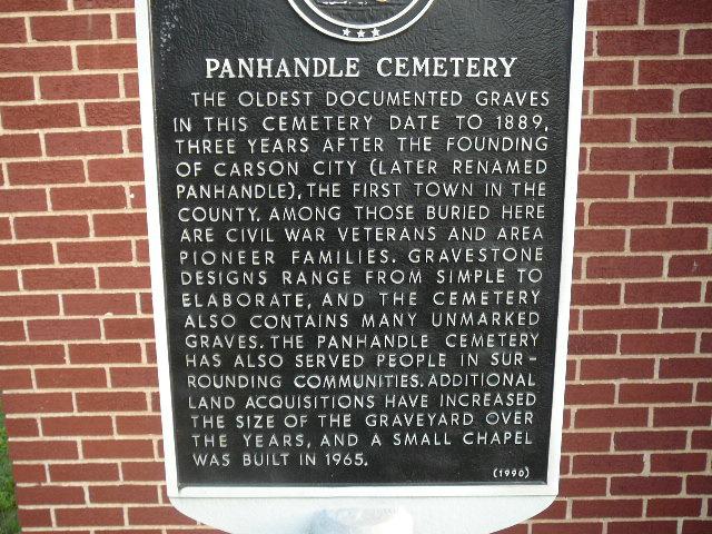 Panhandle Cemetery