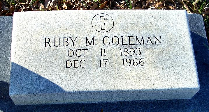 Ruby S. <i>Maynor</i> Coleman
