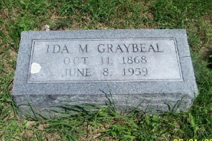 Ida May <i>Watson</i> Graybeal