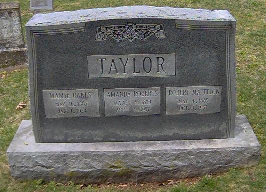 Amanda <i>Roberts</i> Taylor