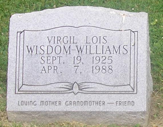 Vergil Lois <i>Wisdom</i> Williams