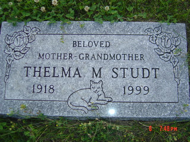 Thelma May <i>Peterson</i> Studt