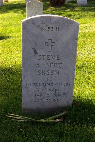 PFC Steve Albert Srsen