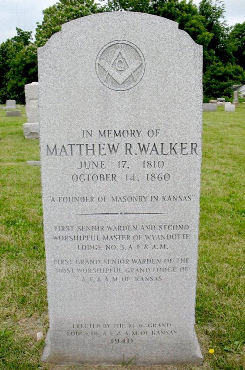 Matthew Rankin Walker (1810-1860) - Find A Grave Memorial