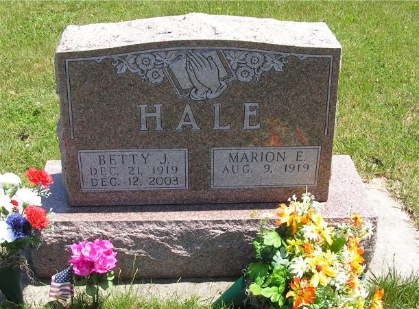 Betty J Hale