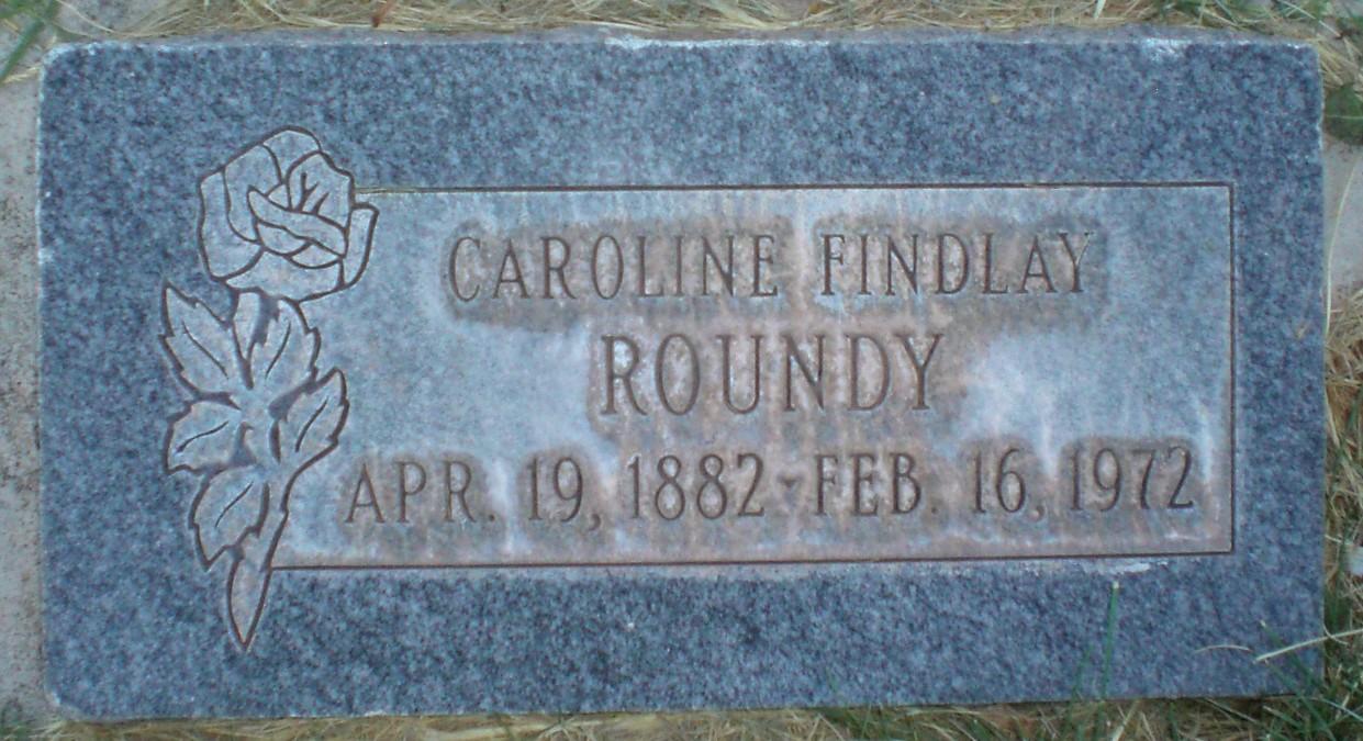 Caroline <i>Findlay</i> Roundy