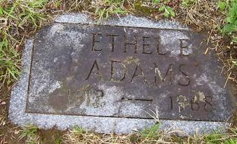 Ethel E. Adams