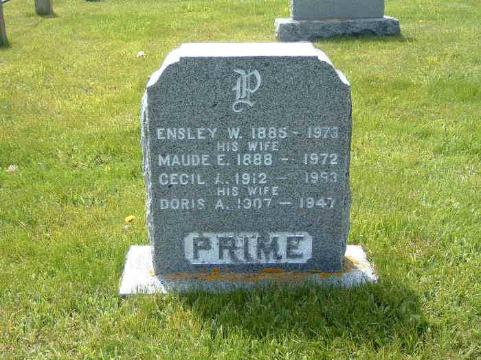 Maude Evelyn <i>Kinney</i> Prime
