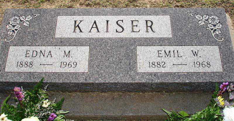 Edna M. <i>Hewson</i> Kaiser