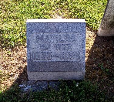 Matilda <i>Heck</i> Eyler