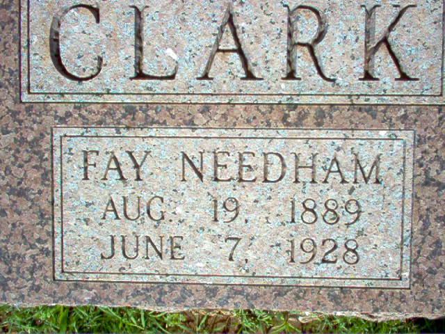 Fay <i>Needham</i> Clark