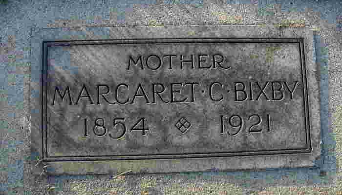 Margaret C <i>Young</i> Bixby