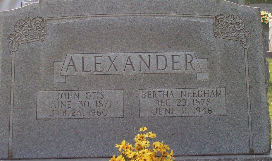 Bertha <i>Needham</i> Alexander