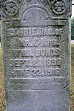 Carrie Bonds