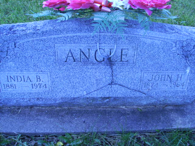 India Blanche <i>Boone</i> Angle