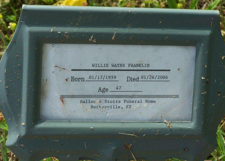 Willie Wayne Franklin