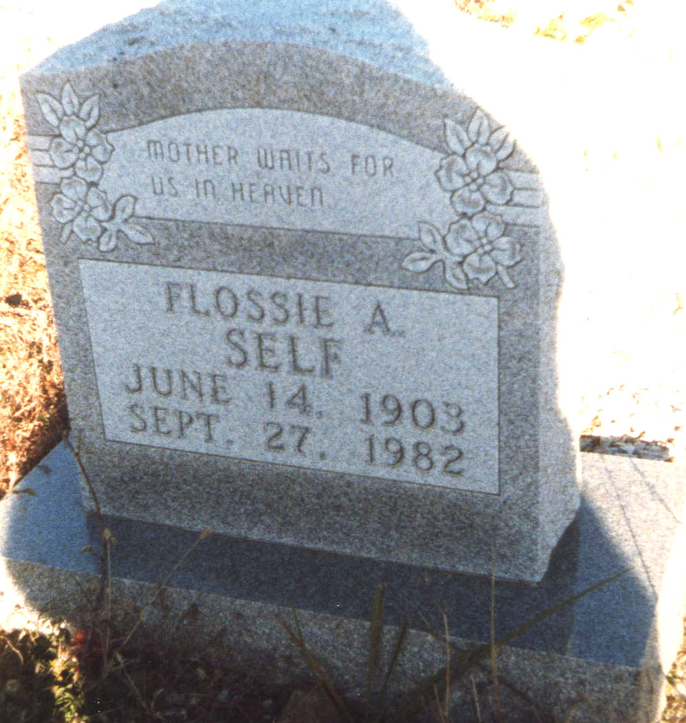 Flossie Alberta <i>Watson</i> Self