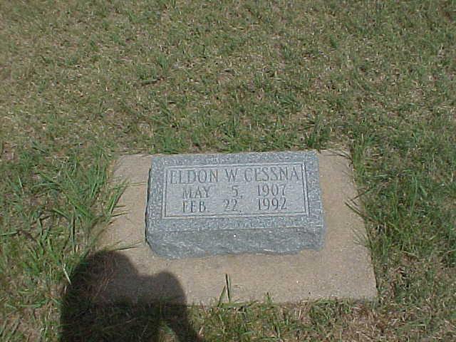 Eldon W Cessna