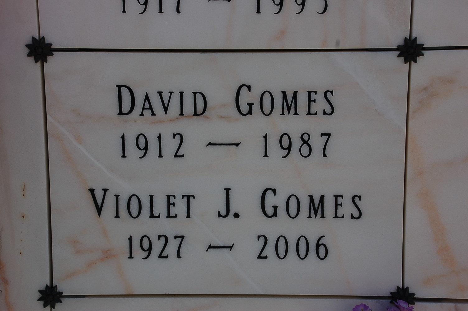 Violet J. <i>Vargas</i> Gomes