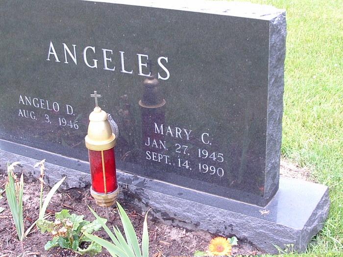 Mary Caroline <i>Fisher</i> Angeles