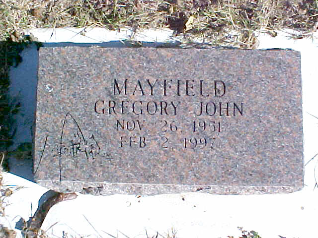 Gregory John Mayfield