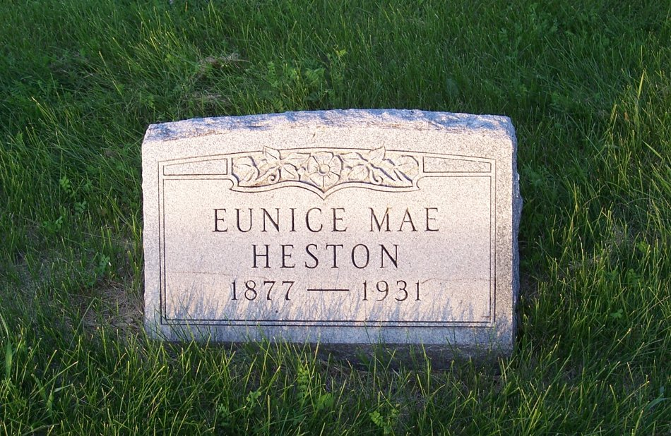 Eunice Mae <i>George</i> Heston