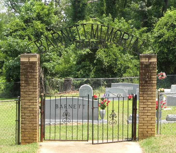 Barnett Memorial Garden