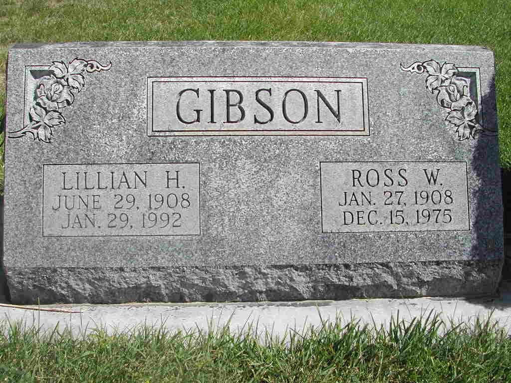 Lillian <i>Henderson</i> Gibson