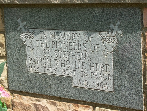 Saint Stephens Cemetery Old