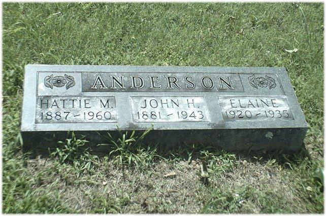 Harriett Margaret <i>Porter</i> Anderson
