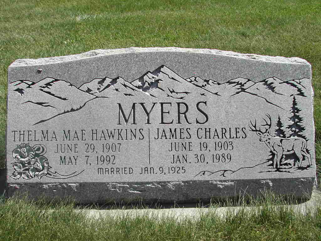 Thelma Mae Hawkins Myers