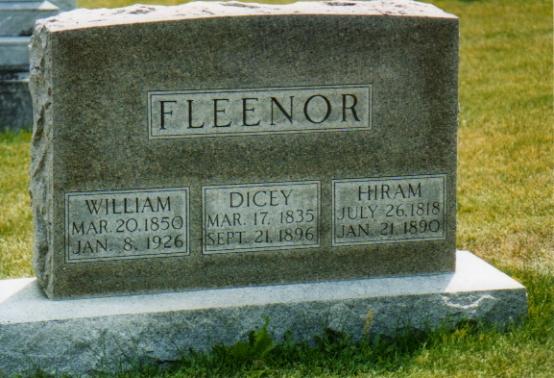 Dicey Emeline <i>Linder</i> Fleenor
