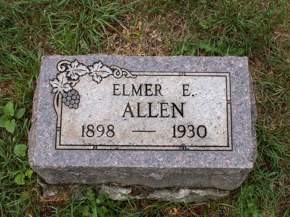 Elmer Ellsworth Allen