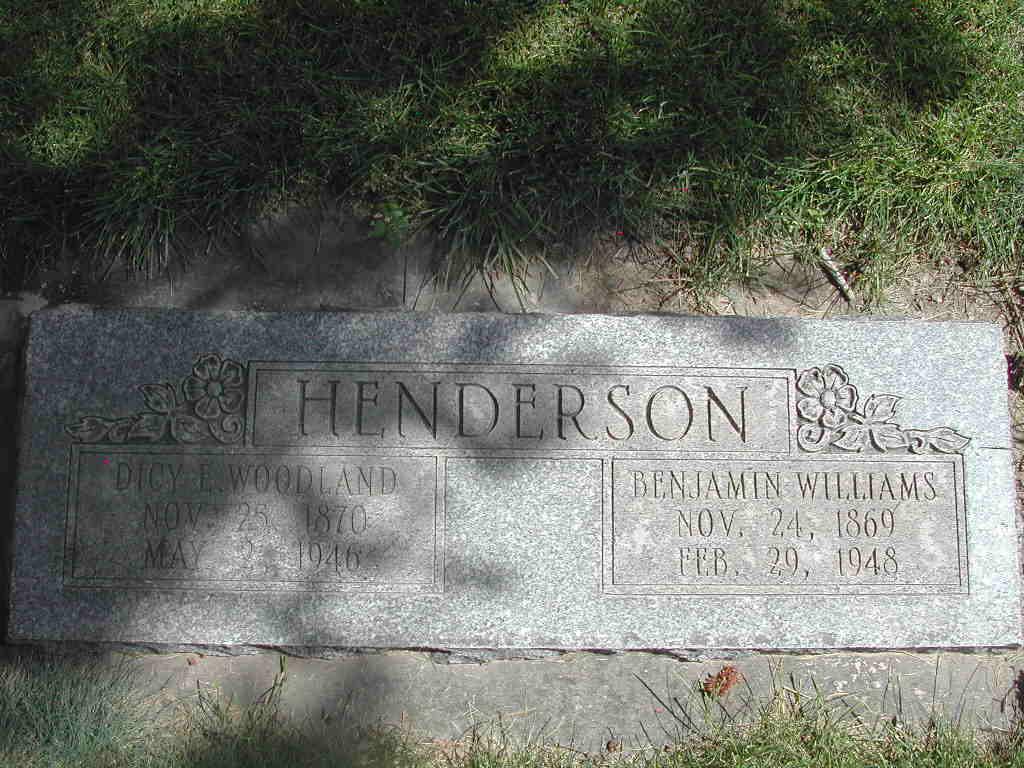 Benjamin Williams Henderson