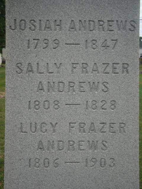 Sally <i>Frazer</i> Andrews