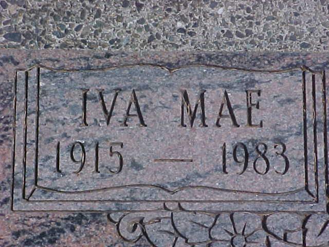 Iva Mae Anderson