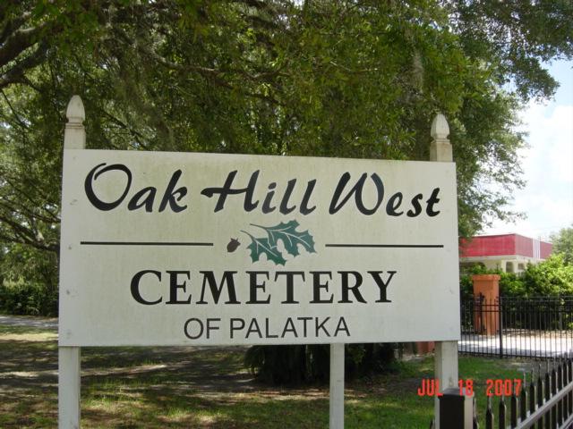 Oak Hill West Cemetery