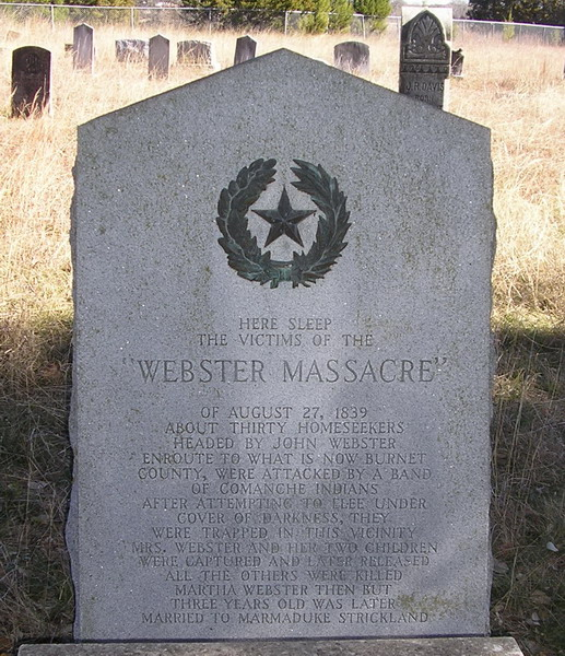 Webster Massacre Victims