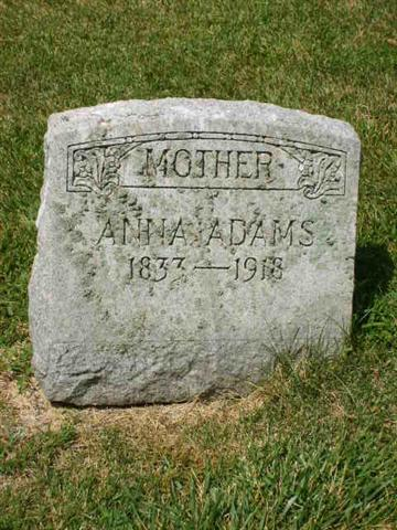 Anna <i>Haerner</i> Adams