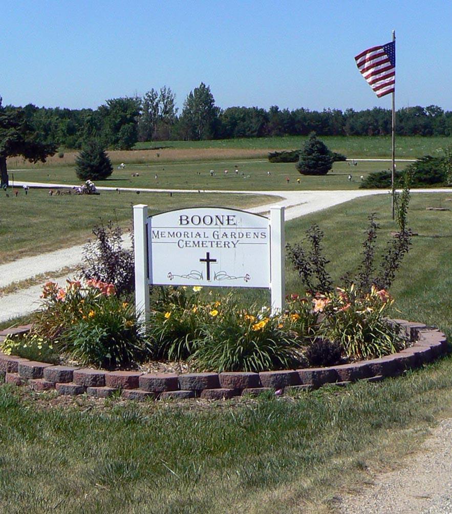 Boone Memorial Gardens Cemetery