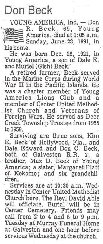 Don R Beck